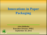 Innovations in Paper Packaging