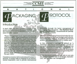 National Packaging Protocol