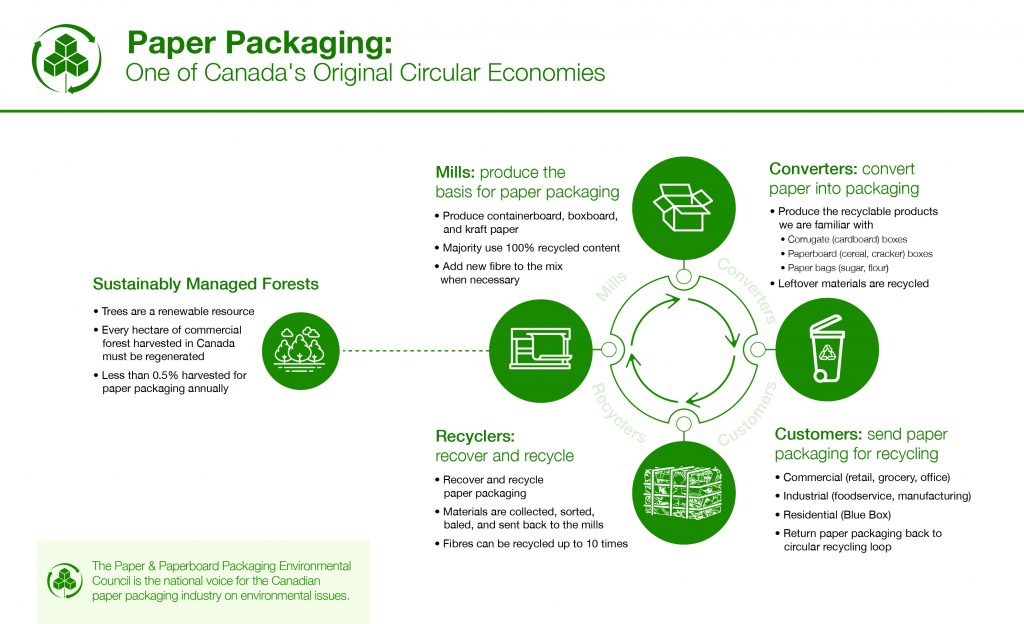 PPEC New Infographic 2021 - circular economy and recycled content